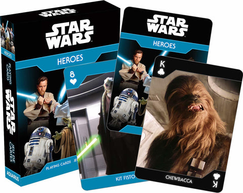 Star Wars – Light Side Heroes Playing Cards