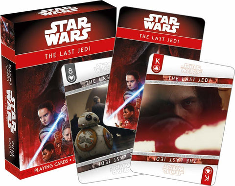Star Wars – Ep. 8 The Last Jedi Playing Cards