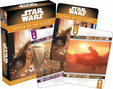 Star Wars – Ep. 2 Attack Of The Clones Playing Cards