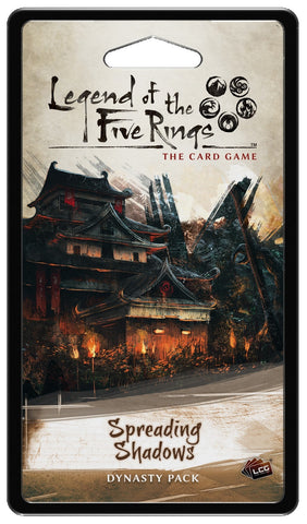 Legend of the Five Rings LCG: Spreading Shadows - Dynasty Pack