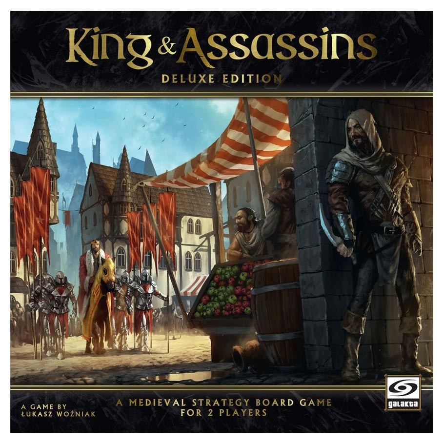 King & Assassins: Deluxe Edition - Board Game