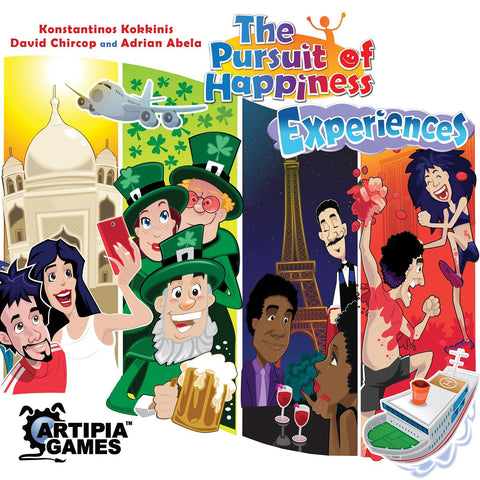 The Pursuit of Happiness: Experiences - Board Game