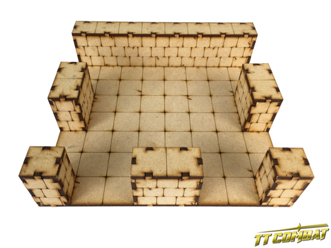 TTCombat: Dungeon Large T-Junction Section
