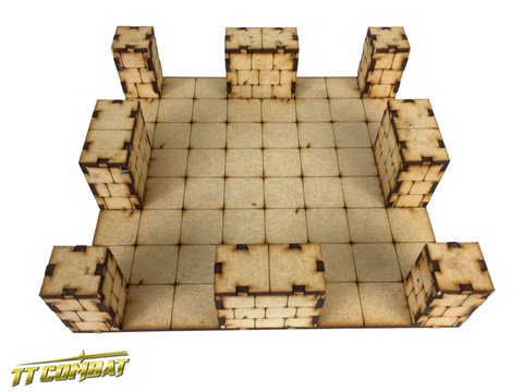 TTCombat: Dungeon Large Crossroad Section