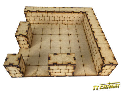 TTCombat: Dungeon Large Corner Section
