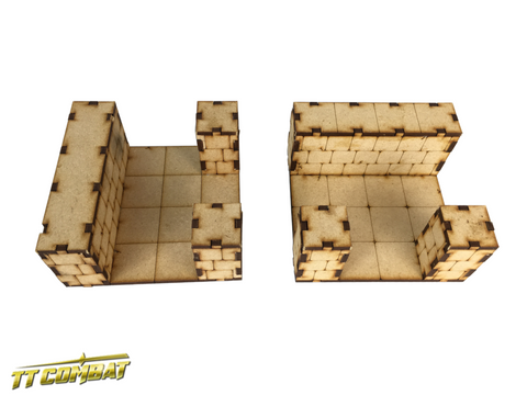 TTCombat: Dungeon T-Junction Sections