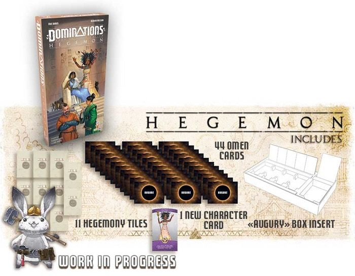 Dominations: Hegemon - Game Expansion