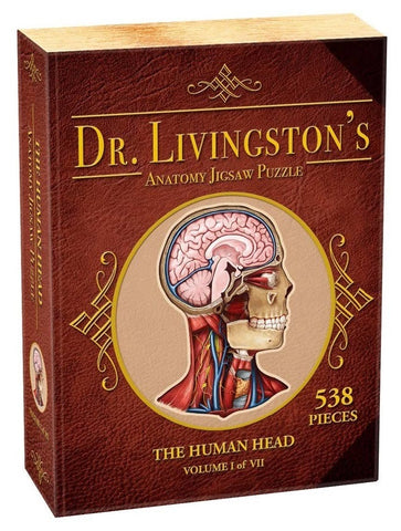 Dr Livingston's: 538-Piece Anatomy Puzzle - Human Head