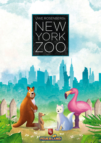 New York Zoo - Board Game