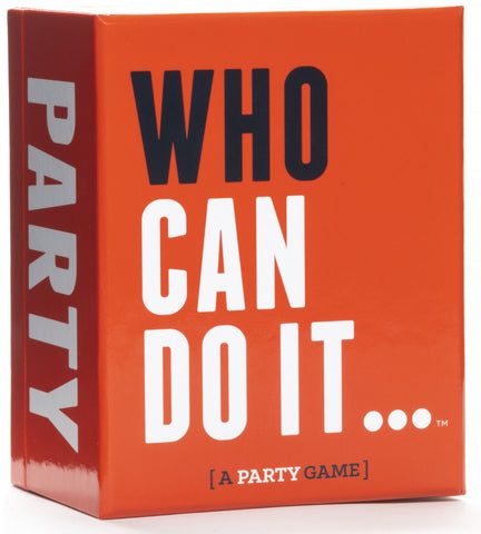 Who Can Do It - Party Game