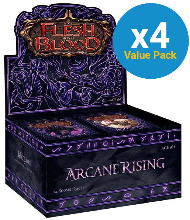 Flesh and Blood TCG: Arcane Rising Booster Case