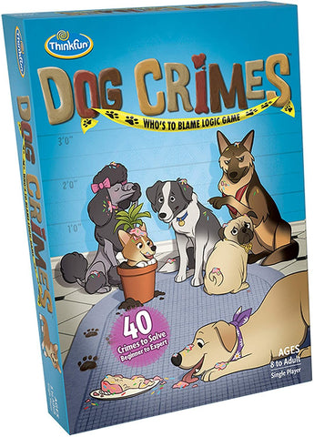 Thinkfun: Dog Crimes - Logic Game