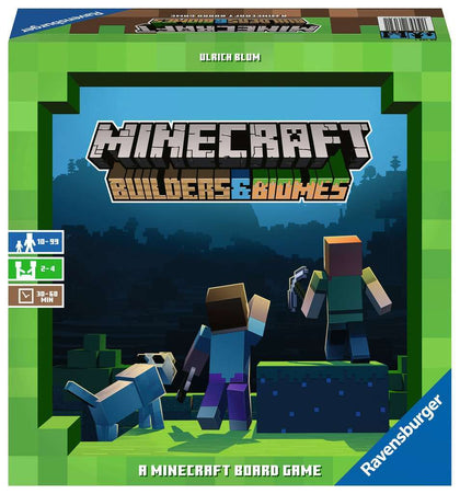 Minecraft: Builders & Biomes - Board Game