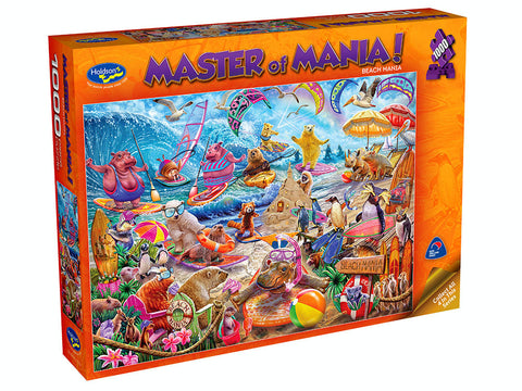 Holdson: 1000 Piece Puzzle - Master of Mania (Beach Mania)
