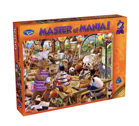 Holdson: 1000 Piece Puzzle - Master of Mania (Chef Mania)