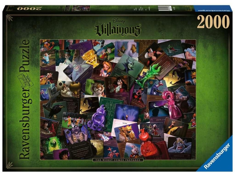Ravensburger: Disney's Villainous - 2,000 Piece Puzzle - The Worst Comes Prepared