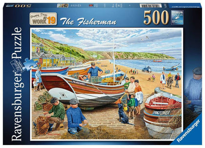 Ravensburger: 500 Piece Puzzle - The Fisherman