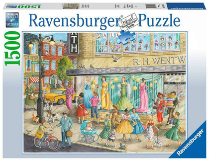 Ravensburger: 1,500 Piece Puzzle - Sidewalk Fashion