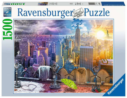 Ravensburger: 1,500 Piece Puzzle - Seasons of New York
