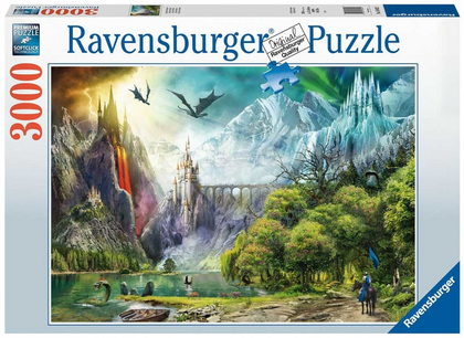 Ravensburger: 3,000 Piece Puzzle - Reign of Dragons