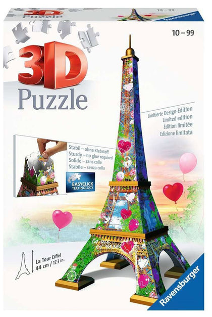 Ravensburger: 3D Puzzle - La Tour Eiffle: Love Edition