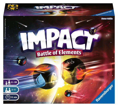 Impact: Battle of Elements - Dice Game