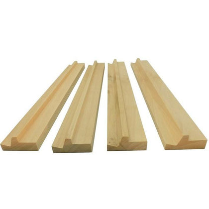 Mahjong Wooden Racks (Set of 4)