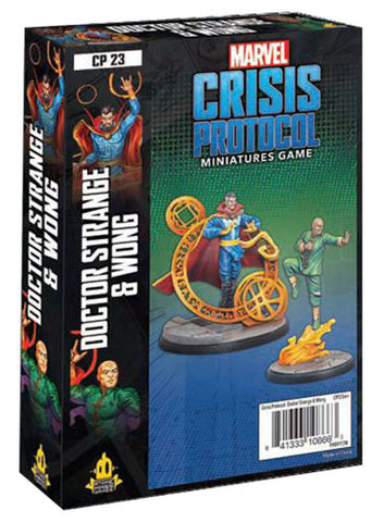 Marvel Crisis Protocol Miniatures Game Dr Strange and Wong Expansion