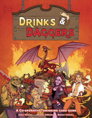 Drinks & Daggers - Card Game