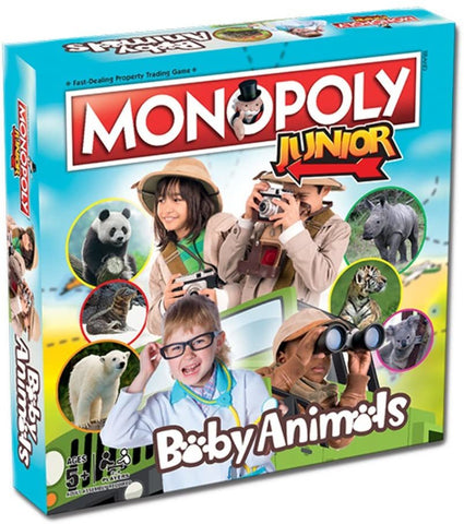 Monopoly Junior - Baby Animals Edition