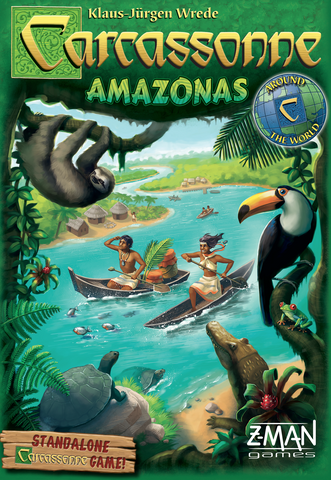 Carcassonne: Amazonas - Board Game