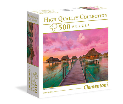 Clementoni: Colourful Paradise 500pc High Quality Jigsaw Puzzle