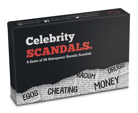 Celebrity Scandals - The Card Game