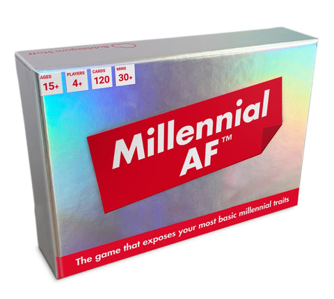 Millennial AF - Party Game
