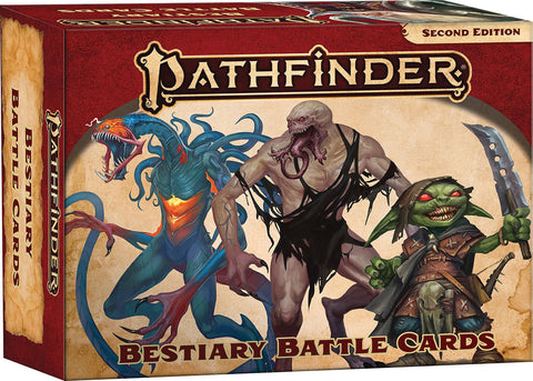 Pathfinder RPG: Bestiary Battle Cards (P2)