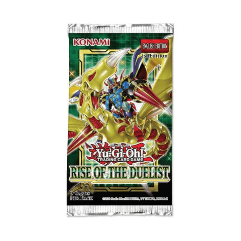 Yu-Gi-Oh! Rise of the Duelist Single Booster (9 Cards)