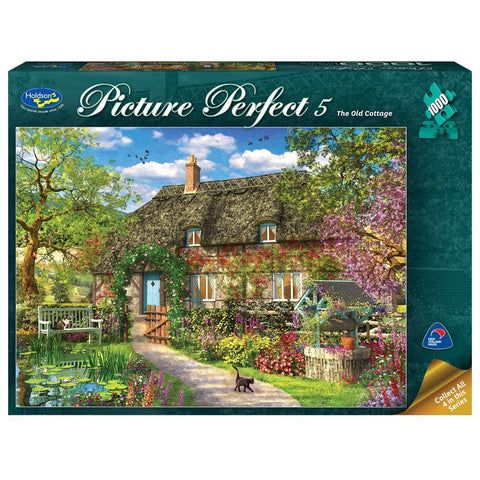 Holdson: 1000 Piece Puzzle - Picture Perfect 5 (The Old Cottage)