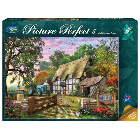 Holdson: 1000 Piece Puzzle - Picture Perfect 5 (Old Cottage Farm)