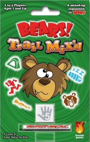 Bears: Trail Mixd - Dice Game