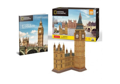 Cubic Fun: 3D National Geographic City Traveller - London Big Ben
