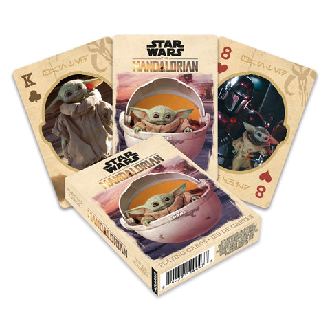 Star Wars The Mandalorian - The Child Playing Cards