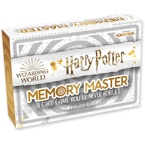 Memory Master Card Game - Harry Potter Edition