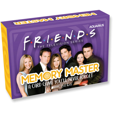 Memory Master Card Game - Friends Edition
