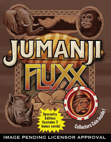 Jumanji Fluxx - Card Game