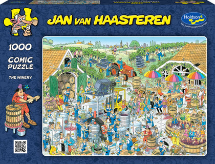 Holdson: 1000 Piece Puzzle - Van Haasteren (The Winery)