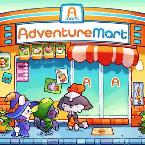 Adventure Mart - Board Game
