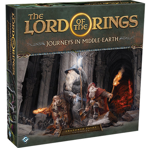 Lord of the Rings: Journeys in Middle Earth - Shadowed Paths Expansion