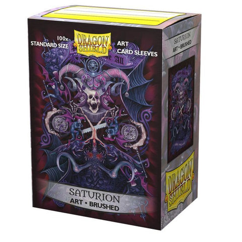Dragon Shield: Saturion Brushed Art Sleeves