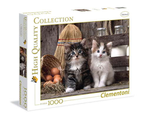 Clementoni: Lovely Kittens - 1000pc Puzzle