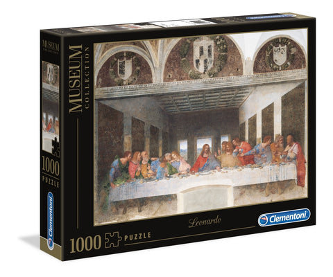 Clementoni: Museum Leonardo - The Last Supper - 1000pc Puzzle